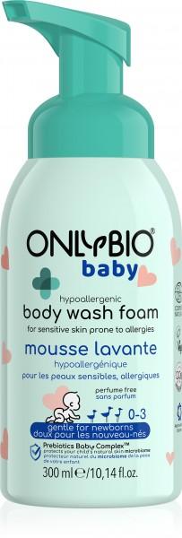 Hypoallergener Waschschaum für Kinder