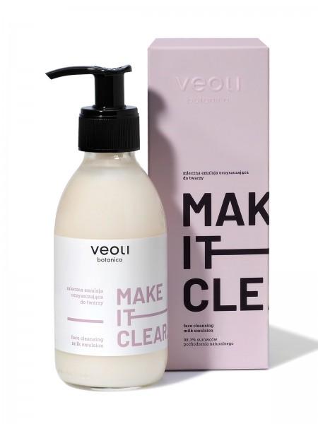 milchige Gesichtsreinigungsemulsion MAKE IT CLEAR - 200 ml